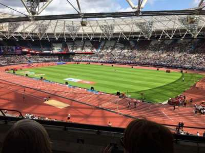 London Stadium section 214