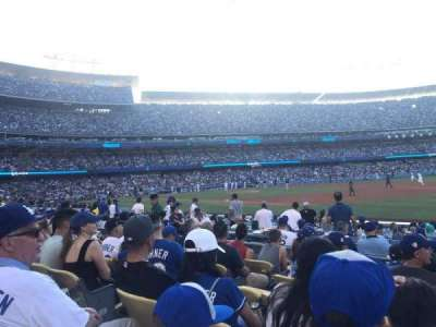 Dodger Stadium section 34FD