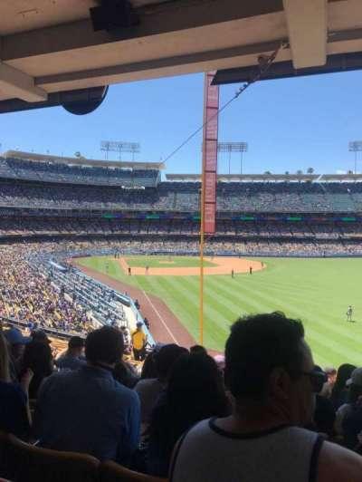 Dodger Stadium section 166lg