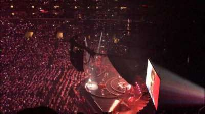 Staples Center, section: 333, row: 7, seat: 8