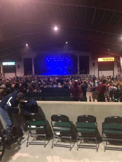 Bank of New Hampshire Pavilion, section: 3D2T4, row: C2, seat: 7