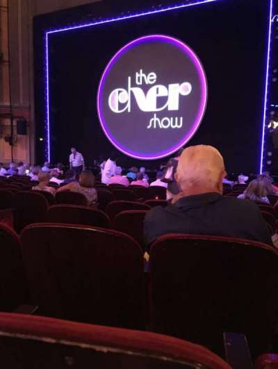 Neil Simon Theatre, section: Orchestra R, row: O, seat: 8