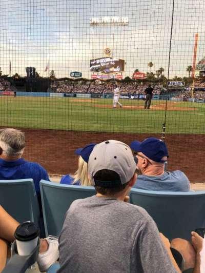 Dodger Stadium section 5DG