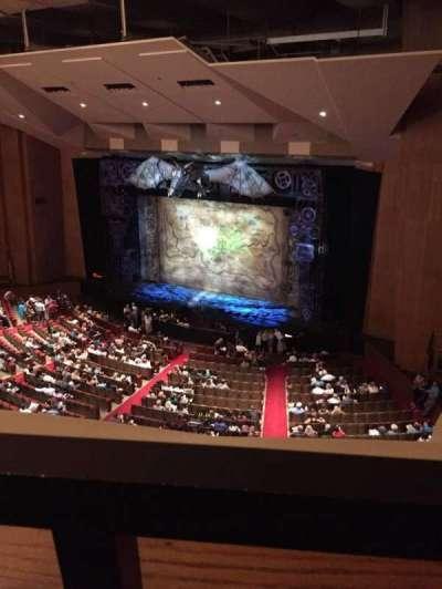 Keller Auditorium, section: 2nd Balcony Box E, row: 1, seat: 2
