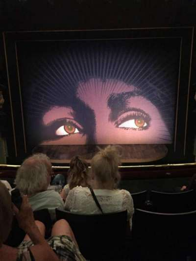Aldwych Theatre, section: Dress Circle, row: D, seat: 13