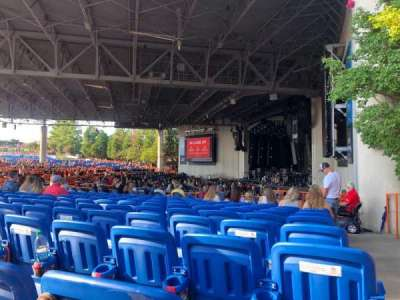 PNC Music Pavilion section 4