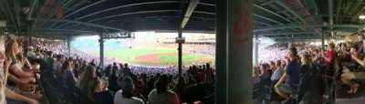Fenway Park, section: Grandstand 26, row: 17, seat: 3