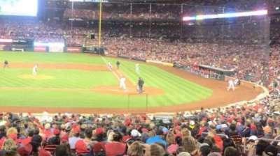Busch Stadium section 154