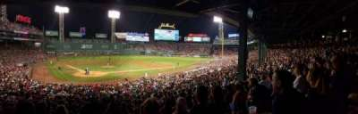 Fenway Park, section: Grandstand 19, row: 10, seat: 6