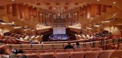Davies Symphony hall, section: 1st Tier, row: E, seat: 110