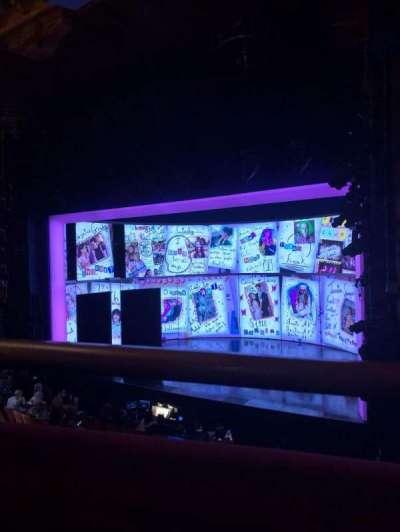 August Wilson Theatre section Mezzr