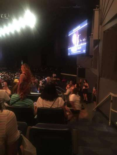 Hulu Theater at Madison Square Garden section 206