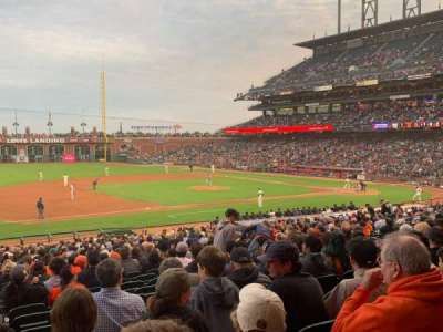 Oracle Park section 125
