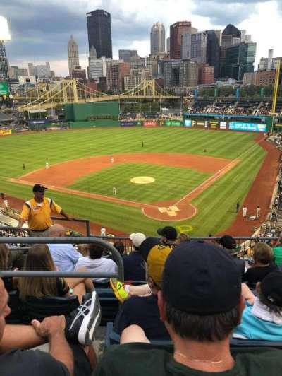 PNC Park, section: 217, row: F, seat: 16