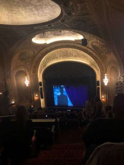 Paramount Theatre (Seattle) section Mezzanine 31