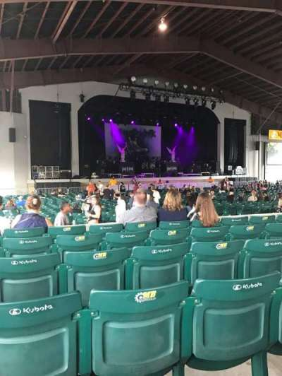 Bank of New Hampshire Pavilion, section: 2A, row: 6, seat: 10