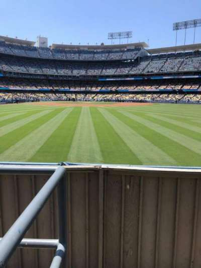 Dodger Stadium, section: 310PL, row: A, seat: 1