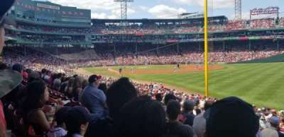 Fenway Park section Right Field Box 92