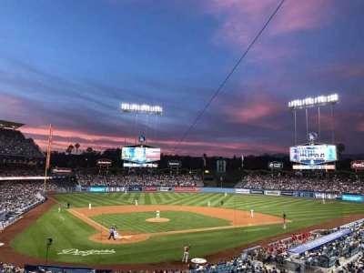 Dodger Stadium, section: 112LG, row: H, seat: 13