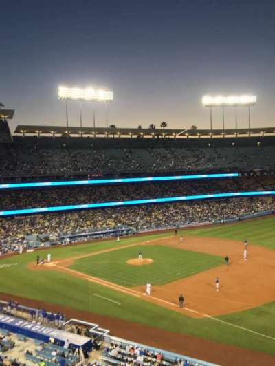 Dodger Stadium, section: 34RS, row: A, seat: 10