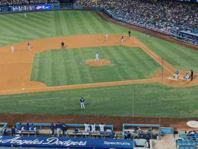Dodger Stadium, section: 15RS, row: B, seat: 10