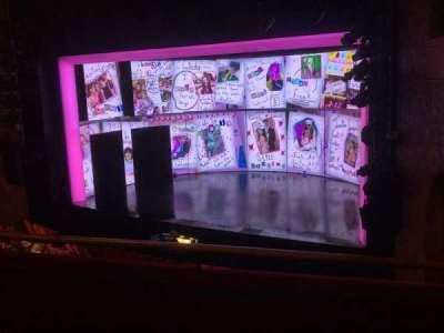 August Wilson Theatre section Mezzanine R