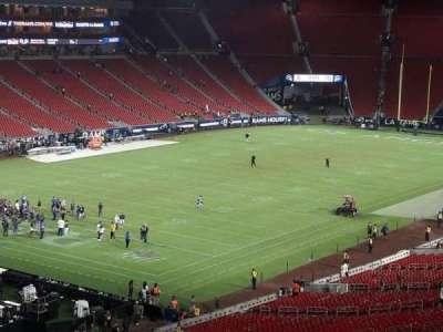 Los Angeles Memorial Coliseum section 327