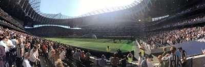 Tottenham Hotspur Stadium section 116