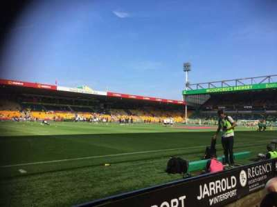 Carrow Road section South stand N