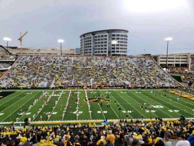 Kinnick Stadium section 127