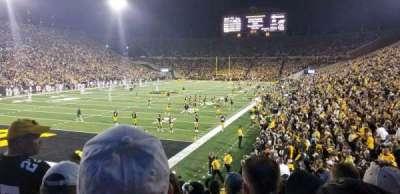 Kinnick Stadium, section: 133, row: 18, seat: 15
