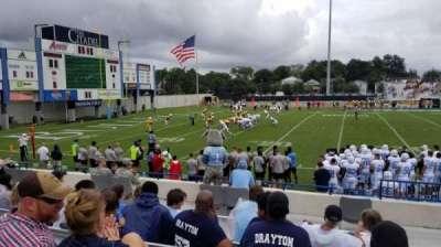 Johnson Hagood Stadium, section: I, row: 8, seat: 2