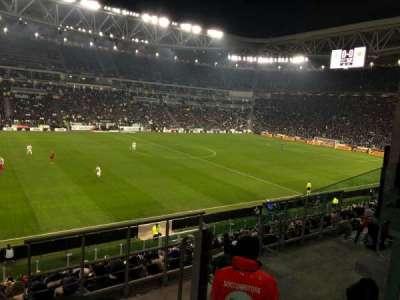 Allianz Stadium (Turin), section: 116, row: 22, seat: 1