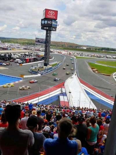 Charlotte Motor Speedway section NVERD