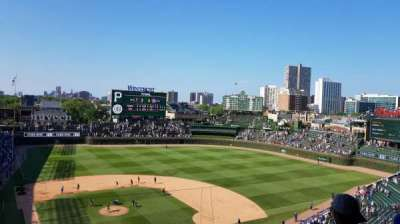 Wrigley Field section 321R