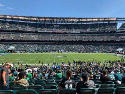 Lincoln Financial Field section 101