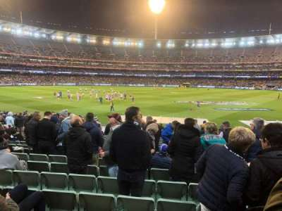 Melbourne Cricket Ground, section: M23, row: Y, seat: 6