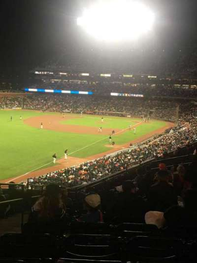 Oracle Park, section: 232, row: K, seat: 25