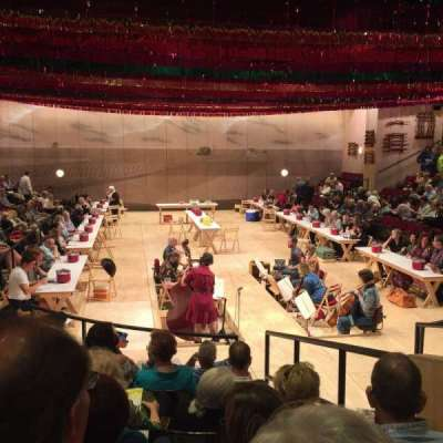 Circle in the Square Theatre, section: Orchestra 100 (Odd), row: G, seat: 107