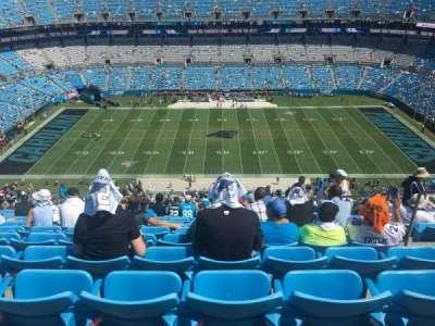 Bank of America Stadium section 542