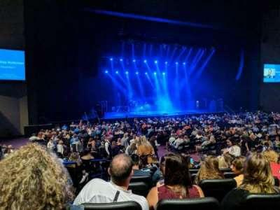 Ovation Hall, section: 105, row: M, seat: 15
