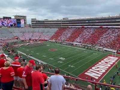 Camp Randall Stadium, section: BB, row: 6, seat: 3