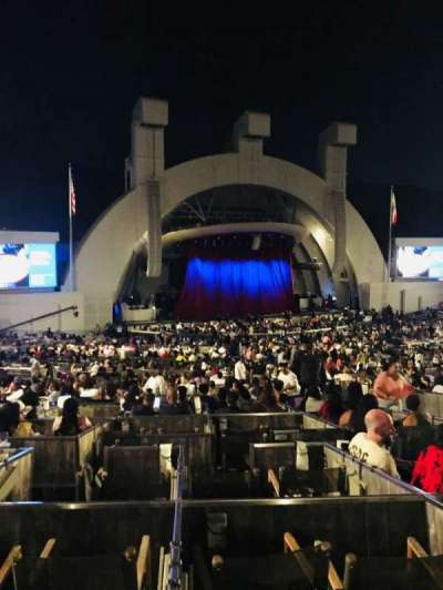 Hollywood Bowl section Terrace Box 1863