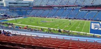 Highmark Stadium section 208