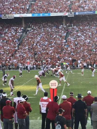 Cotton Bowl, section: 22, row: 9