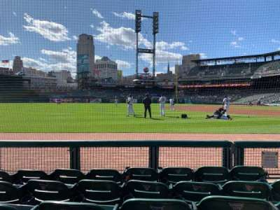 Comerica Park, section: 138, row: 5, seat: 4