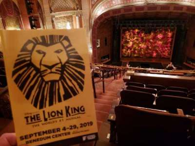 Benedum Center, section: Second Tier C, row: R, seat: 101