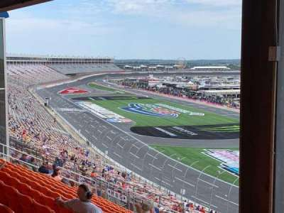 Charlotte Motor Speedway, section: New Ver G