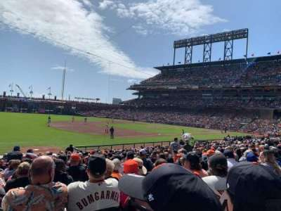 Oracle Park section 127