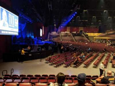 Hard Rock Live at Etess Arena, section: 214, row: H, seat: 7